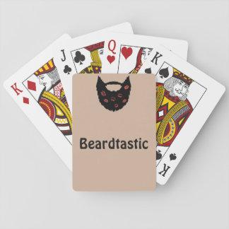 Cartões de jogo de Beardtastic Jogo De Carta