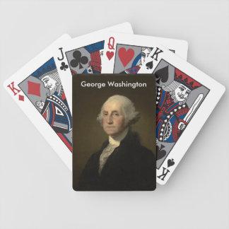 Cartões de jogo de George Washington Baralhos Para Poker