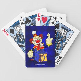 Cartões de jogo de Jack in the Box Baralhos De Cartas
