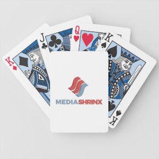 Cartões de jogo de Mediashrinx - bicicleta Baralho De Truco