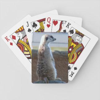Cartões de jogo de Meercat Jogo De Baralho