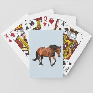 Cartões de jogo do amante do cavalo jogo de carta