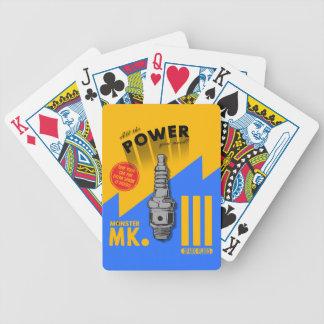 Cartões de jogo do Mk III do monstro Carta De Baralho
