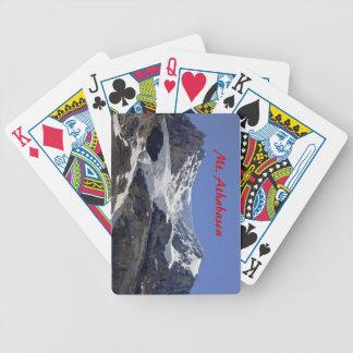 Cartões de jogo do Mt. Athabasca Jogos De Baralho