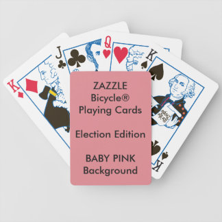 Cartões de jogo feitos sob encomenda da ELEIÇÃO de Baralhos De Poker