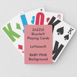 Cartões de jogo feitos sob encomenda de Bicycle® Baraloho De Pôquer