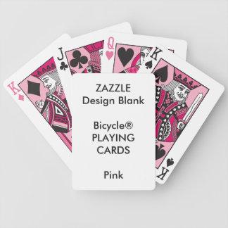 Cartões de jogo feitos sob encomenda do ROSA de Baralho Para Pôquer