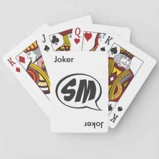 Cartões de jogo jogos de baralhos