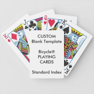 Cartões de jogo PADRÃO do ÍNDICE de Bicycle® do Baralho Para Poker