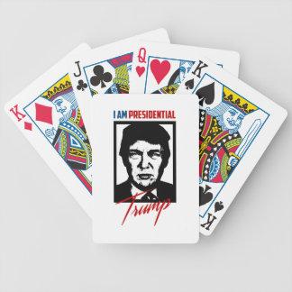 Cartões de jogo presidenciais de Donald Trump Baralhos De Cartas
