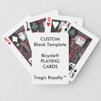 Cartões de jogo trágicos de Royalty™ da bicicleta Baralhos De Poker