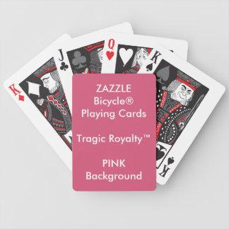 Cartões de jogo TRÁGICOS feitos sob encomenda de Baralho De Cartas