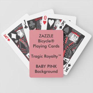 Cartões de jogo TRÁGICOS feitos sob encomenda de Baralhos De Carta