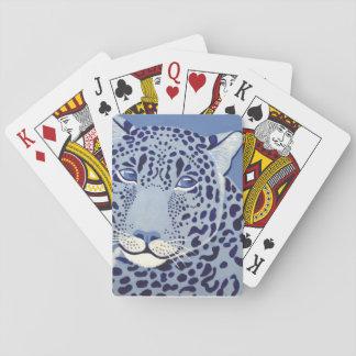 Cartões de jogo Ultramarine de Jaguar Baralho
