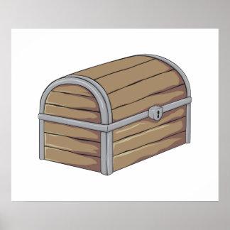 Cartões de madeira antigos feitos sob encomenda da pôsteres