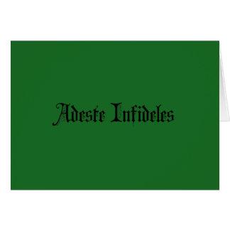 Cartões de natal ateus/agnósticos/freethought