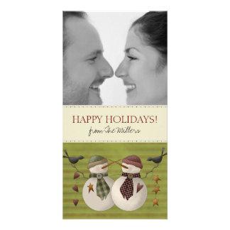 Cartões de Natal da foto dos casais Cartões Com Fotos Personalizados