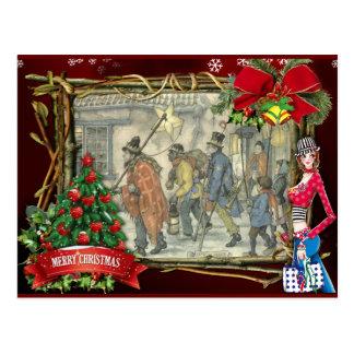 Cartões de natal de Anton Pieck