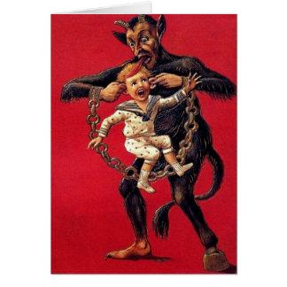 Cartões de Natal de Krampus
