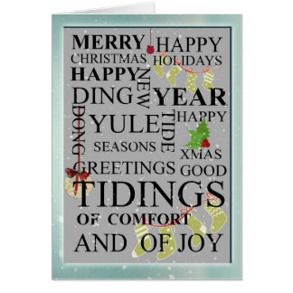 Cartões de Natal de Natal Tipografia Empresa