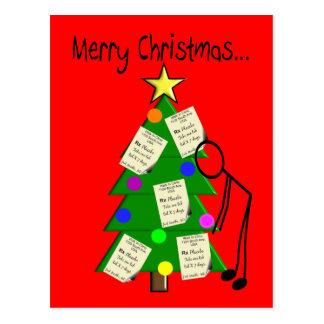 Cartões de Natal do farmacêutico