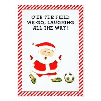 cartões de Natal do futebol