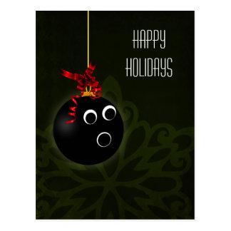 cartões de natal do jogador