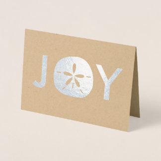 Cartões de natal do Natal da praia do dólar de