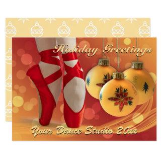 Cartões de natal do Natal do balé