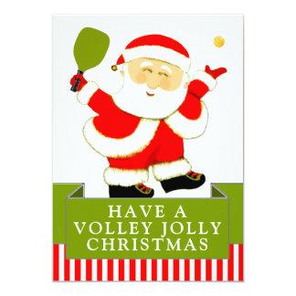 cartões de Natal do pickleball