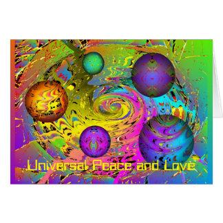Cartões de natal do universo da fantasia
