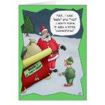 Cartões de Natal engraçados: Com deficiência audit