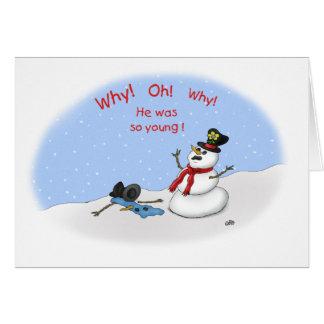 Cartões de Natal engraçados: Fusão