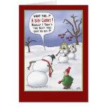 Cartões de Natal engraçados: Matérias do tamanho