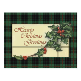 Cartões de natal entusiastas, Tartan de Gunn