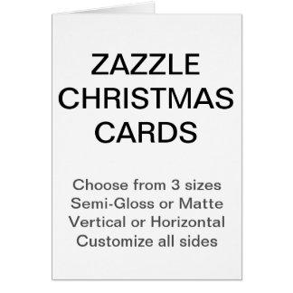 Cartões de Natal feitos sob encomenda