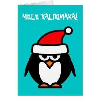 Cartões de Natal havaianos de Mele Kalikimaka
