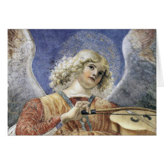 Cartões de Natal Melozzo do anjo do renascimento a