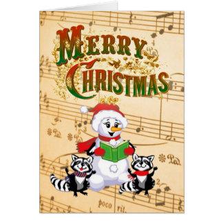 Cartões de natal musicais