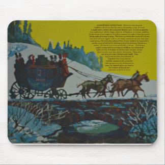 Cartões de natal - Natal Mousepad