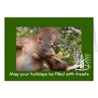 Cartões de natal para a caridade dos animais