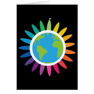 Cartões de Natal para a paz e a igualdade