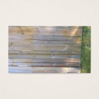 Cartões de negócio caseiro de sega da grama do