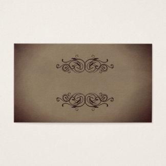 Cartões de negócio de retalho ocidentais de papel