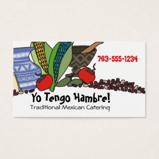 Cartões de negócios do sudoeste mexicanos da