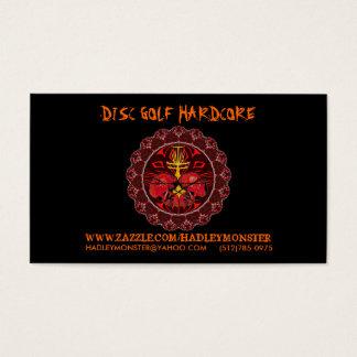 Cartões de negócios incondicionais do golfe do