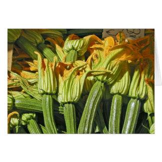Cartões de nota da flor da polpa