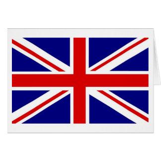 Cartões de nota de Union Jack