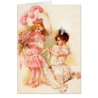Cartões de nota do florista