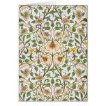 Cartões de nota florais do teste padrão do Daffodi